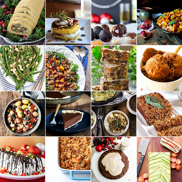 16 amazing vegan Christmas salads, sides, mains and desserts
